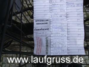 Geocaching-Logbuch
