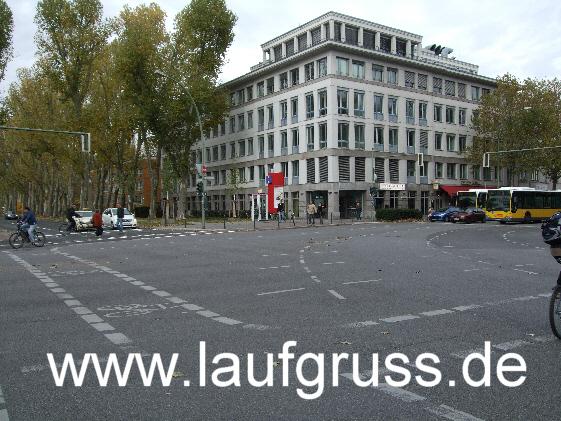 Geocaching in Berlin. Vor ort.