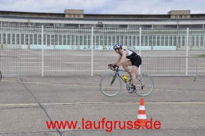 Aeroposition auf dem Rennrad