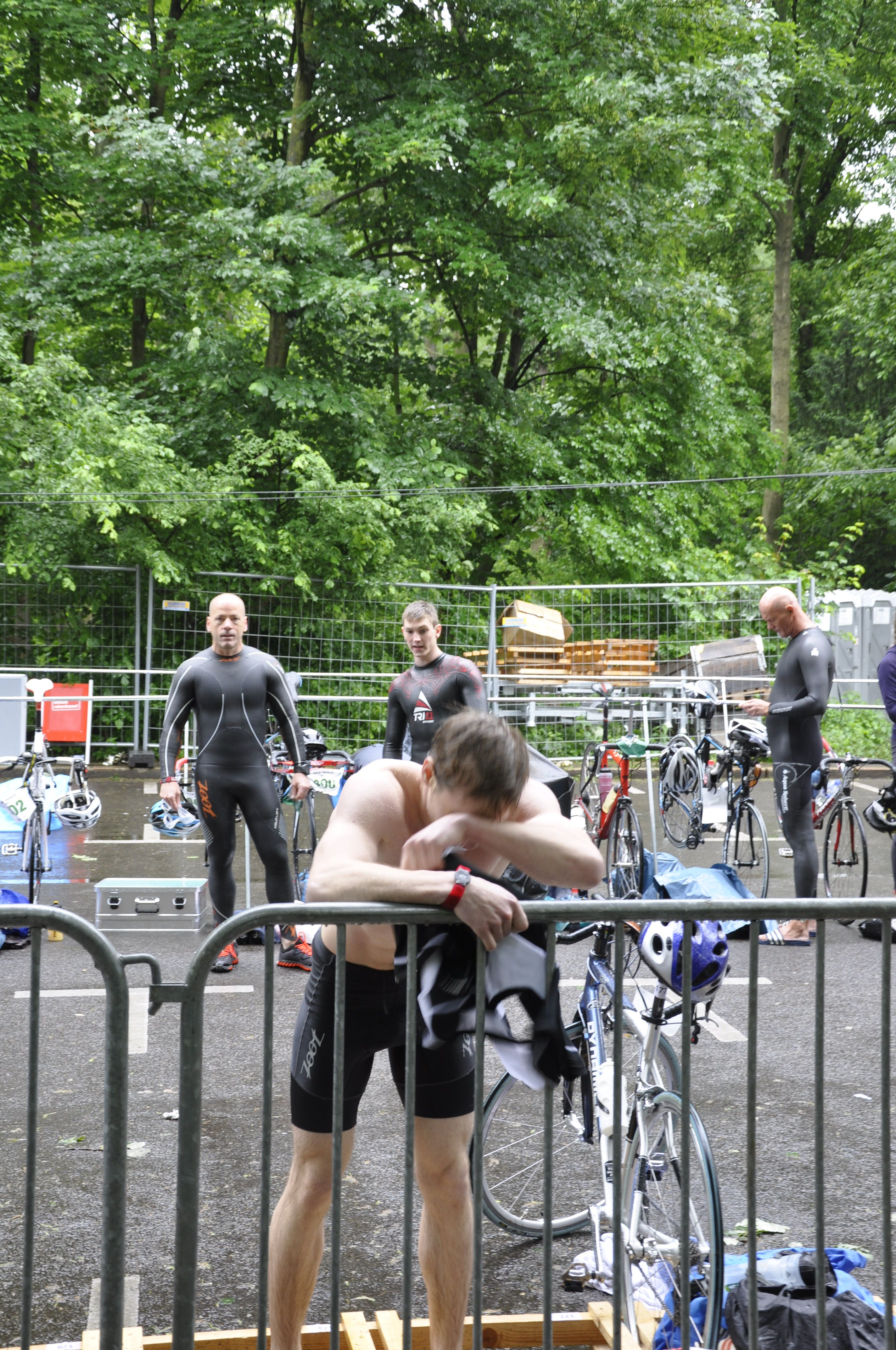 Berlin Triathlon 2013 Ende
