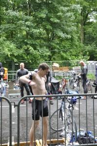 Berlin Triathlon 2013 Unterkühlung