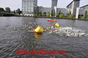 Berlin Ironman Schwimmstart