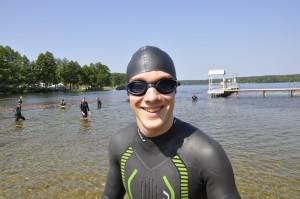 Schorfheide Triathlon - der erste gute Start in die Saison.