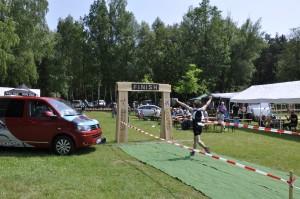 Schorfheide Triathlon - Finish aus und vorbei