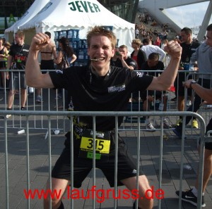 Urbanathlon Finisher Medaille