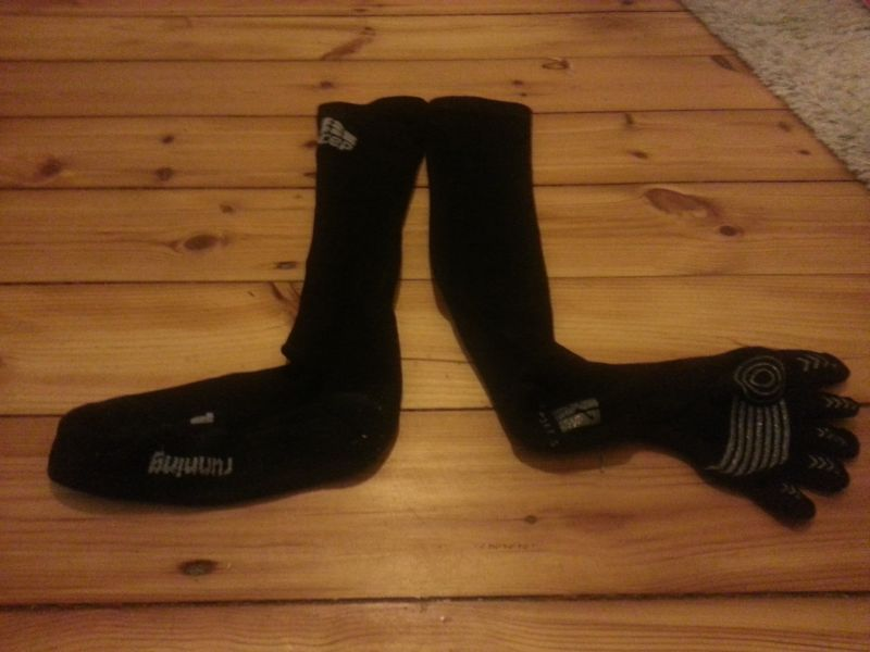 Knitido Compression TS vs CEP Runsocks