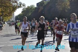 Berlin Marathon Einbruch