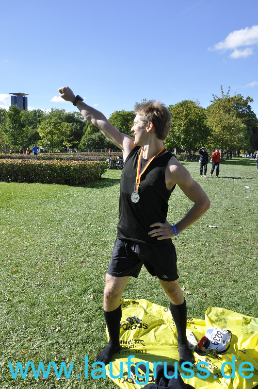 Berlin Marathon Happy End