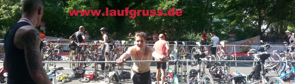Berlin Triathlon 2014 Finish