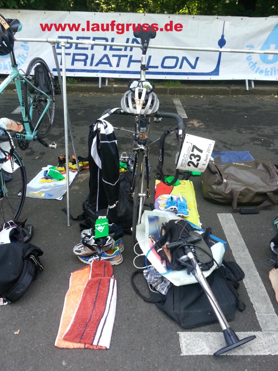 Berlin Triathlon 2014 Start