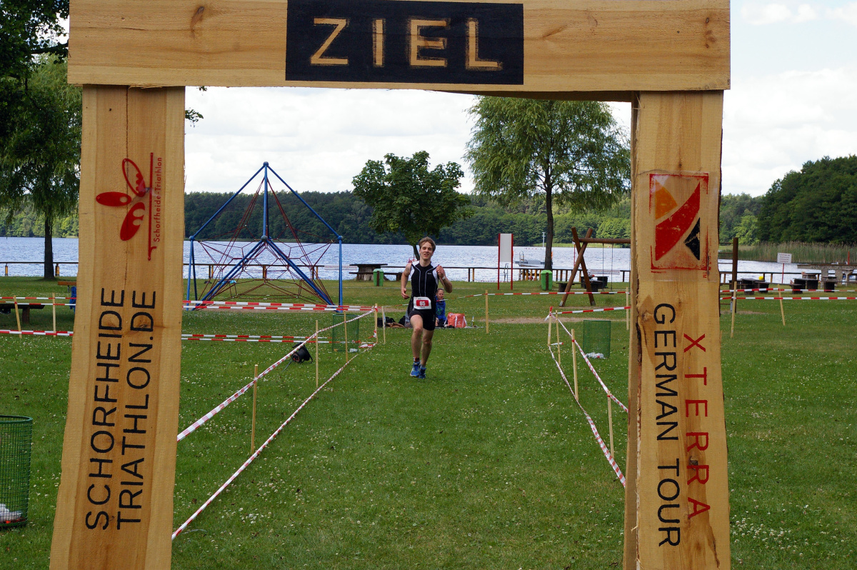Schorfheide Triathlon Finish